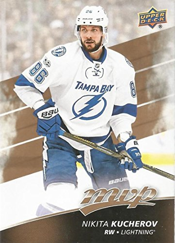 2017-18 Upper Deck MVP #185 Nikita Kucherov Tampa Bay Lightning
