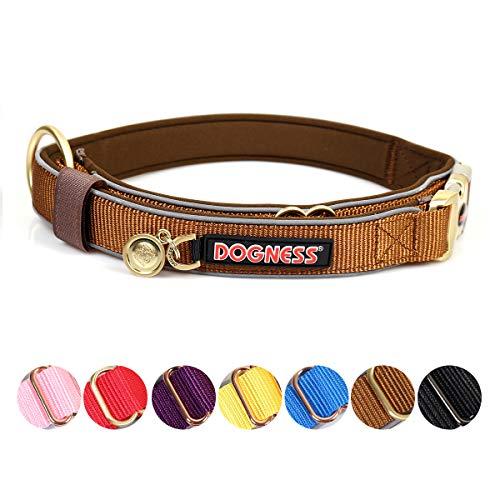 Goetland Nylon Metal Classic Buckle Dog Collar Quick Release No Choke Adjustable Durable Training XS/S -