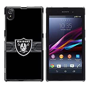 Impact Case Cover with Art Pattern Designs FOR Sony Xperia Z1 L39 Raider Hockey Pirate Team Betty shop