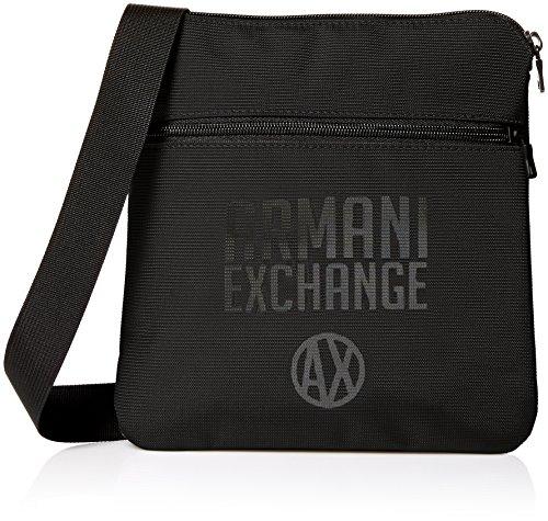 Exchange Crossbody Bags Armani Messenger Black Black Men's Utility dPqxwtq