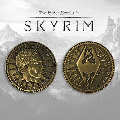 FaNaTtik The Elder Scrolls V: Skyrim Collectable Coin The Empire is Law Coins