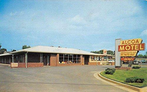 alcoa-tennessee-motel-street-view-vintage-postcard-k45919