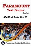 Paramount Test Series SSC CGL Tier - 1 41 - 60 Mock Tests