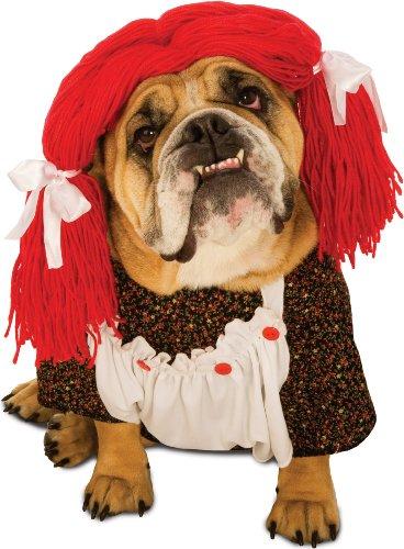 Zelda Rag Doll Dog Costume Size Medium -