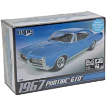 C.P.M. MPC MPC710R 1:25 Scale 1967 Pontiac GTO Model Kit
