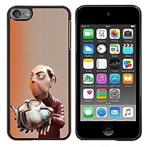 LECELL--Funda protectora / Cubierta / Piel For Apple iPod Touch 6 6th Touch6 -- Mastermind científico para niños hijos de --
