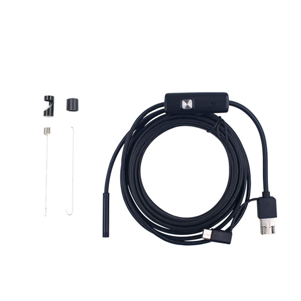 MEILI 8Mm Endoskop Endoskop Endoskop DREI Arten Von Wasserdichten Industrie-Visuellen Pipeline-Inspektion Notebook-Computer-Schnittstelle,Hardline,2M f81be5