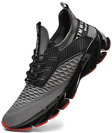 XIDISO Zapatillas de correr para hombre para mujer con malla de malla para hombre: Amazon.es: Zapatos y complementos