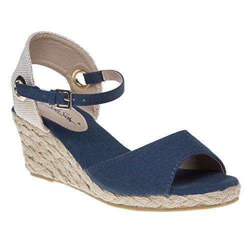 SOLESISTER Lizzy Sandals Blue Navy BFT0lAfEkl