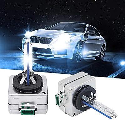 Carrep 35W D3S D3R OEM HID Xenon Headlight Replacement for Philips or OSRAM Bulbs 2PCS(10000K Aqua Blue): Automotive