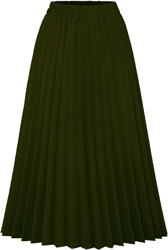 non-vintage brown skirt and tropical beige tropical fish print Handmade midi skirt high waist hipster skirt and elastic SM size