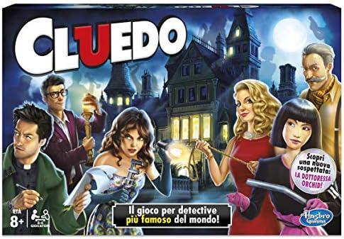 Hasbro Gaming - Juego en Familia Cluedo (Hasbro 38712) (versión Italiana): Amazon.es: Juguetes y juegos