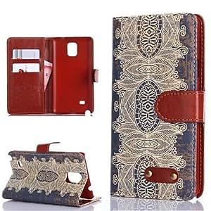 GX Teléfono Móvil Samsung - Carcasas de Cuerpo Completo - Diseño Especial - para Samsung Galaxy Note 4 ( Multi-color , Cuero PU )