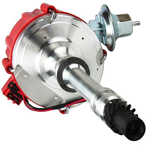 High Performance Chevy HEI Distributor 65K Coil BBC SBC 350 For Chevrolet/gm GMC Small Block 400 283 305 307 327 - Big Block 396 427 454 V8 7500RPM -