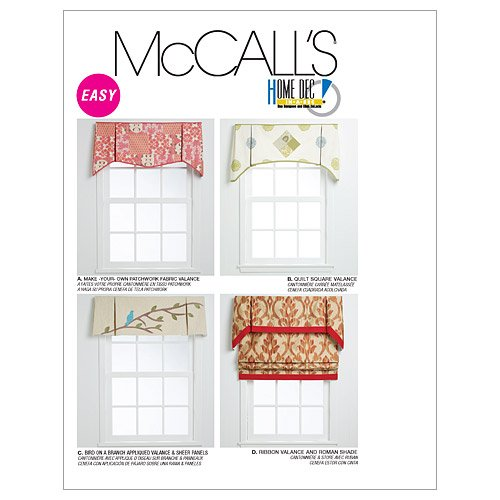 McCall's Patterns M6299 Window Treatments