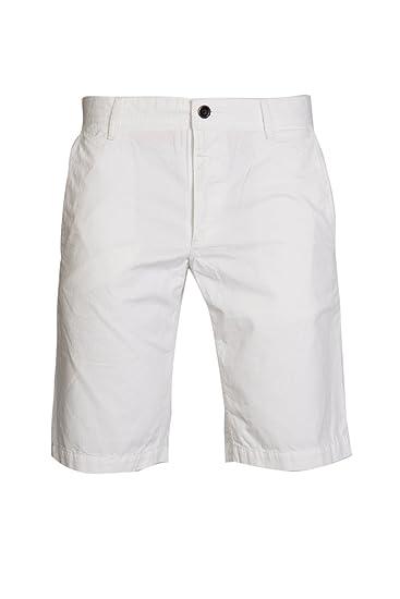 5538a8a96 BOSS Orange Men Shorts SCHINO-SHORTS-D 50258928 Size 40 White:  Amazon.co.uk: Clothing