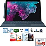 Microsoft KJW-00001 Surface Pro 6 12.3' Intel i7-8650U 16GB/1TB Convertible Laptop + Elite Suite 17 Software Bundle (Office Suite Pro, Photo Editor, PDF Editor, PCmover Pro) + 1 Year Extended Warranty