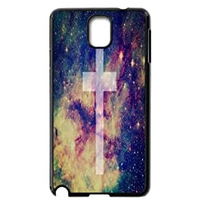 Diy Cross Shell Case Cover, DIY Unique Back Case Cover for Samsung Galaxy Note 3 N9000 Cross