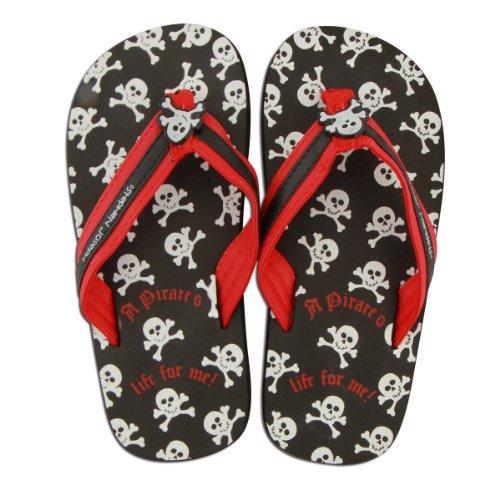 Stephen Joseph Flip Flop, (Pirates Black Sunglasses)