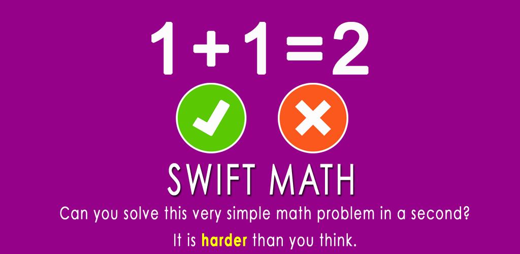 Amazon.com: Swift Math - Freaking Hard Problem Solving Brain Game ...