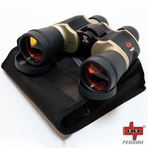 Day/Night 20x60 High Quality Outdoor Bronze Binoculars w/ Pouch Perrini Camping by Sawan Shop