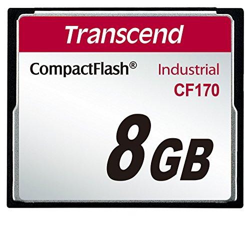 Transcend Information 8GB Industrial Temp Compact F TS8GCF170