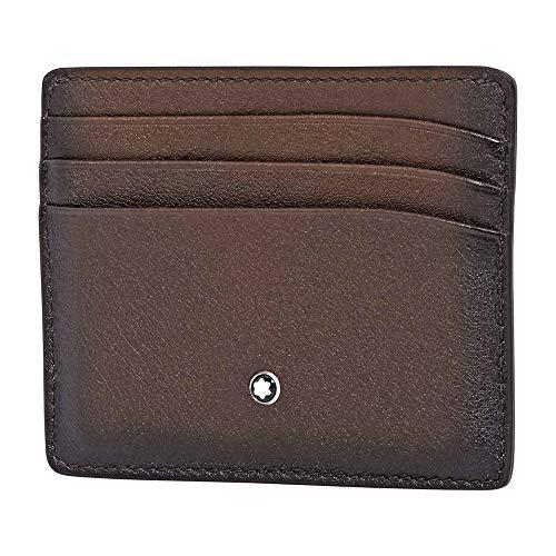 Mont Blanc Meisterstuck Wallet - Montblanc 118366 Meisterstück Sfumato Pocket Holder 6cc