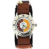 Boxx Time Teacher Brown Army Camouflage Velcro Strap Boys Sports Watch