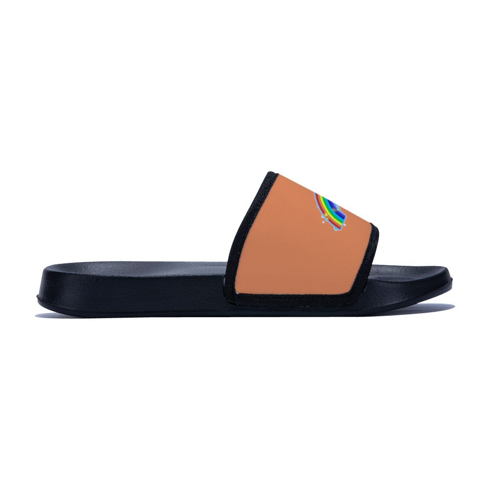 Little Kid//Big Kid Chad Gold Slides Sandals for Boys Girls Anti-Slip Swim Shower Pool Slippers