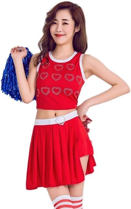 MCO%SISTSR Disfraz De Animadora,Chica Cheerleading Uniformes ...