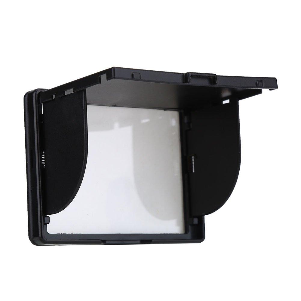VBESTLIFE 3インチ フードサンシェード 折りたたみ式 カメラ LCD モニタースクリーンカバー 柔軟な保護カバープロテクター   B07MQYB2GX