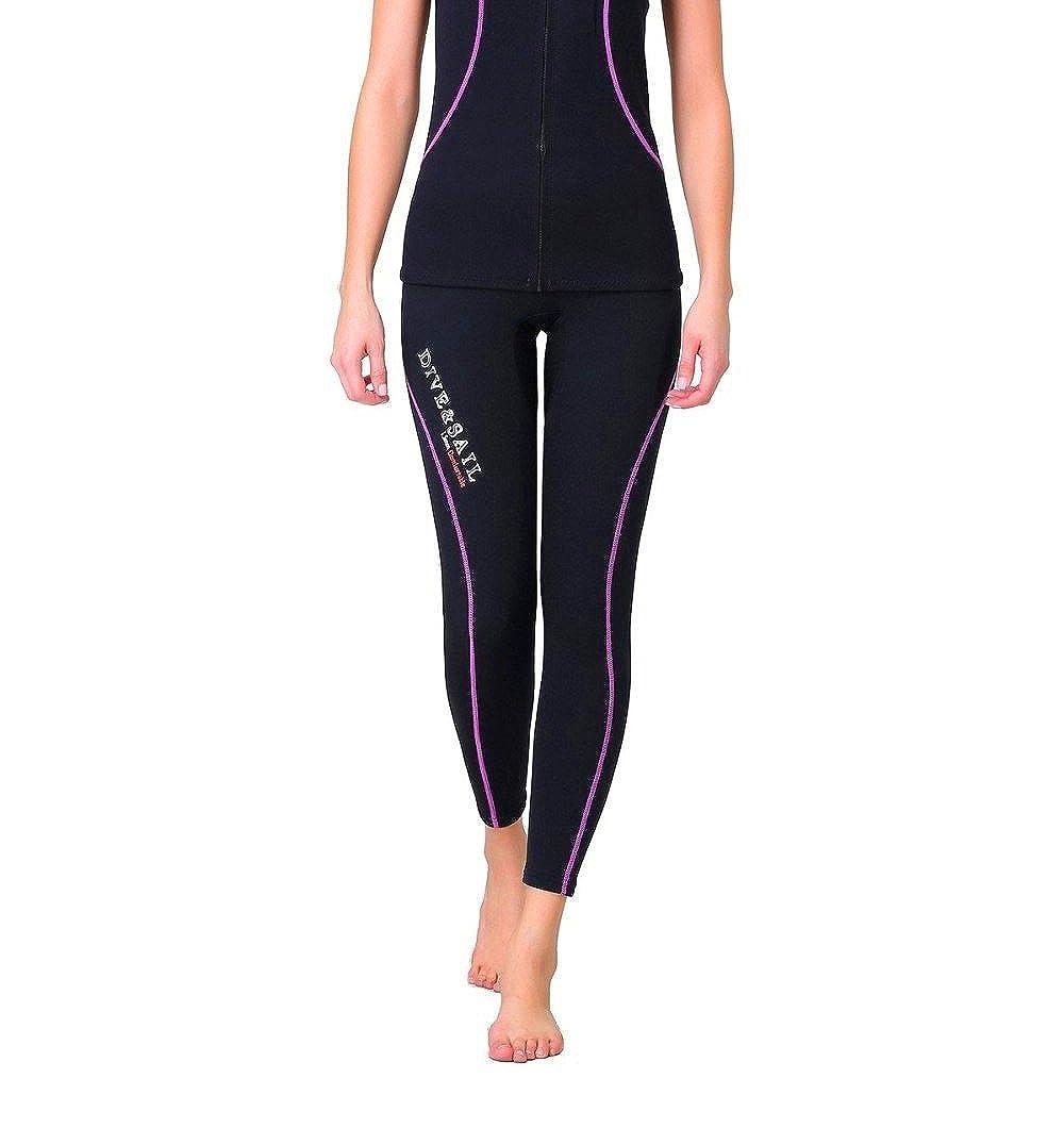 Amazon.com: DIVE & SAIL, pantalones de mujer de neopreno ...