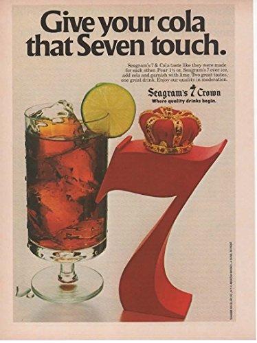 Magazine Print ad: 1979 Seagram's 7 Crown Whiskey,