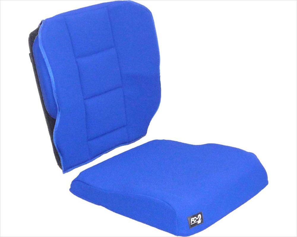 FC-2クッション (背座セット) ブルー B001GZIBJK  ブルー