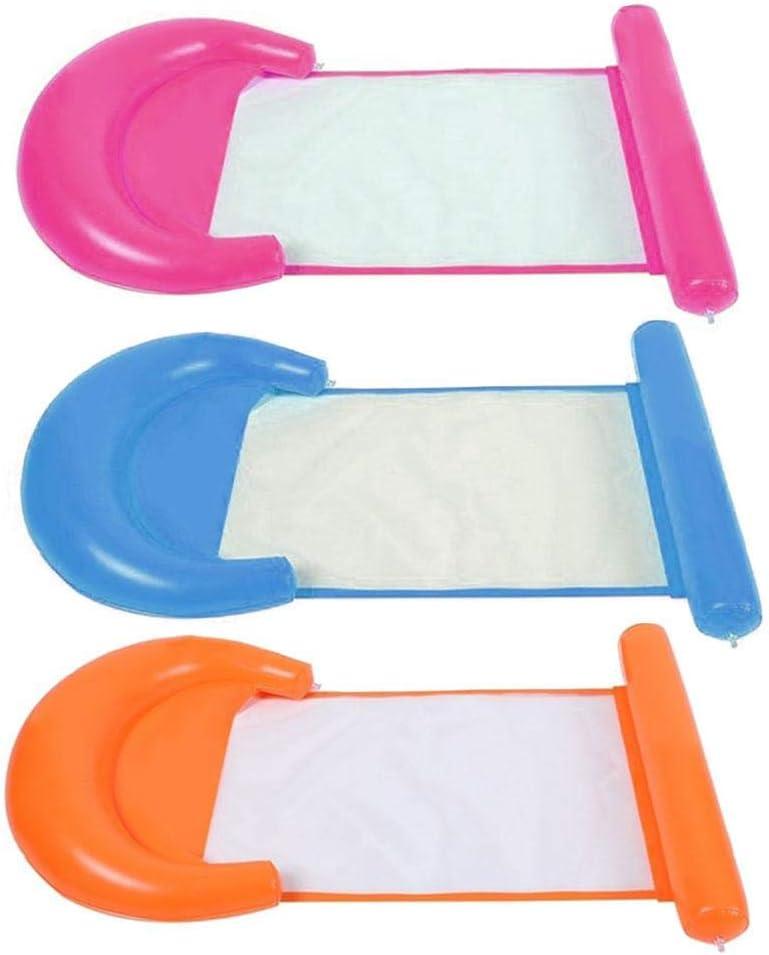 Goodtimera Balsa Inflable De PVC De Gran Tamaño Silla Reclinable Silla Flotante Inflable De La Piscina para Niños Adultos