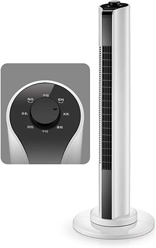 H-O Ventilador de Torre oscilante con Control Remoto y Modo de 3 ...