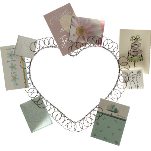 Wire Wall Heart Card and Photo ()