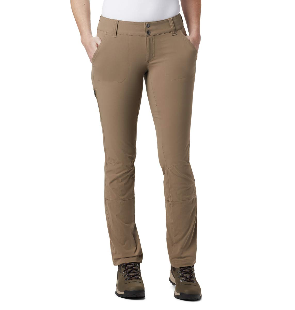 Columbia Wohommes Saturday Trail Pant, Truffle, 4 Regular
