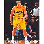 5c6c4fee35a72 JSA Authentic Larry Nance Jr Rookie Autograph 8x10 Los Angeles Lakers  Staples.