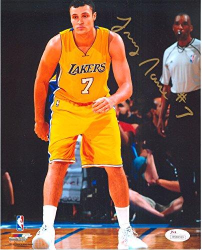 jsa-authentic-larry-nance-jr-rookie-autograph-8x10-los-angeles-lakers-staples-center-photo