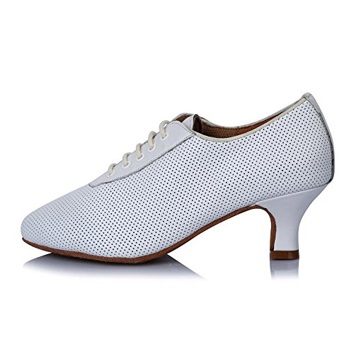 YFF Practice Latin dance shoes Women's Girl 's Ladies Ballroom modern Tango Party 50507 4.5cm cmYqlX
