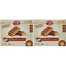 Enjoy Life Sunbutter Crunch Chewy on The Go Bars, Gluten, Dairy and Nut Free,5 Oz Boxes,2 Pack