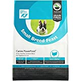Only Natural Pet Natural Dry Dog Food Small Breed Feast - Adult Small Breed & Toy Breed - Real Turkey, Vegetables & Fruits, Canine PowerFood - 13 lb Bag