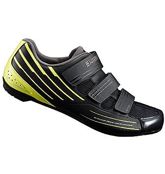 Shimano SHRP2NC470SY00 - Zapatillas Ciclismo, 47, Negro - Amarillo, Hombre: Amazon.es: Deportes y aire libre