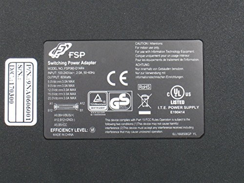 FSP USB-C PD 60W Slim/Compact Laptop Adapter for Macbook Pro 13'' (2015/16), HP Spectre X360/USB Type C Fast Charger for Samsung Galaxy, Google Pixel, Nintendo Switch and More (FSP060-D1AR4) by FSP (Image #4)