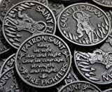 Set of 10 Saint Florian Patron of Fire Fighters Pocket Token Coins
