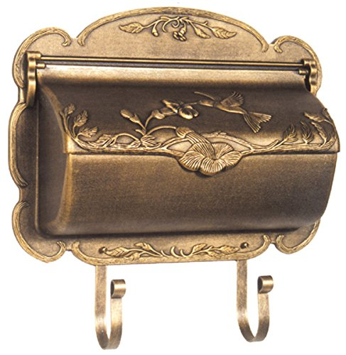 (Special Lite Products SHB-1004-BRZ Hummingbird Horizontal Mailbox, Bronze)