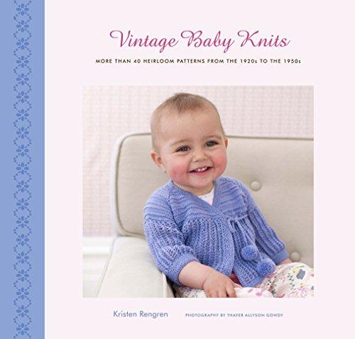 Vintage Baby Knits Heirloom Patterns ebook product image