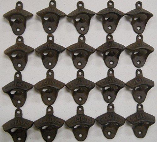 rustic cast iron open here bottle - 9