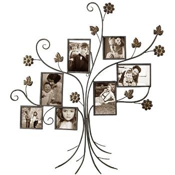 Amazon.com - ELEGAN FAMILY TREE PHOTO PICTURE COLLAGE FRAME (Tree 7 ...